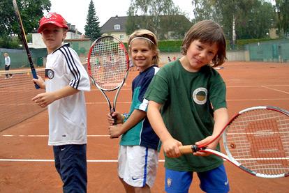 Tennis Grün Gold