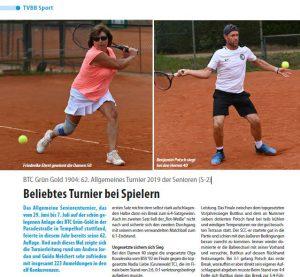 super popular e6281 bc7ff 62. Allgemeines Turnier: Artikel in der Verbandszeitung ...